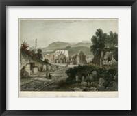 Framed Theatre- Pompeii, Italy
