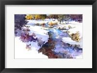 Framed Snake River Meadow - Keystone, Co.