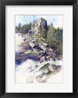 Framed Boulder Canyon - Colorado