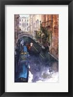 Framed Venice Canal, Italy