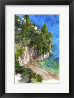 Framed Arienzo Beach - Amalfi Coast, Italy