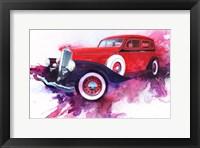 Framed '34 Pierce Arrow
