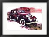 Framed '34 Lincoln