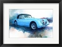Framed '53 Jaguar