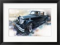 Framed '50 Jaguar