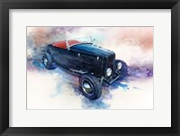 Framed '32 Ford Roadster