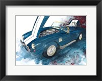 Framed 427 Shelby Cobra