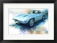 Framed '63 Corvette