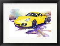 Framed '06 Porsche Cayman