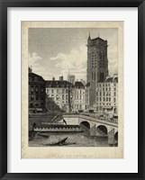Framed Place du Chatelet