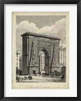 Framed Porte St. Denis