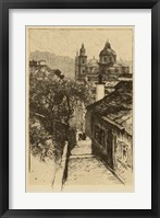 Framed Nonnberg Abbey