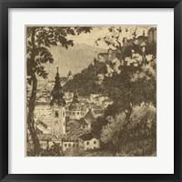 Framed View of Salzburg I