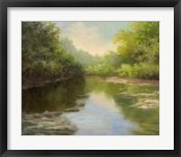 Framed O'Bannon Summer Creek
