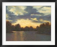 Framed Evening Glow