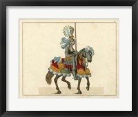 Framed Knights in Armour I