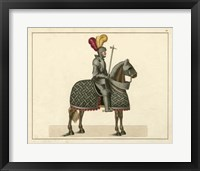 Framed Knights in Armour III