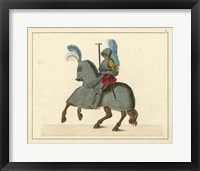 Framed Knights in Armour IV