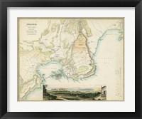 Framed Map of Syracuse