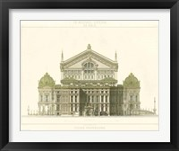 Framed Paris Opera House I