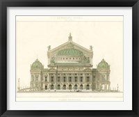 Framed Paris Opera House II