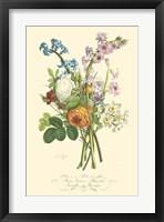 Framed Plentiful Bouquet IV