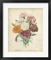 Framed Victorian Bouquet II