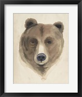 Framed Watercolor Animal Study VI