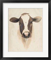 Watercolor Animal Study VII Framed Print