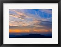 Framed Blue Ridge Sunset