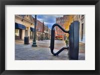 Framed Street Sculpture