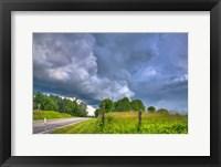 Framed Summer Storm