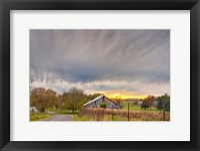 Framed Tennessee Sunset