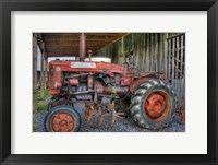Framed farmall tractor