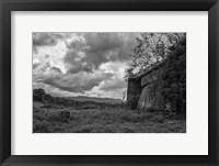 Framed mayberry barn2BW
