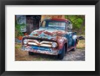 Framed Ford Truck