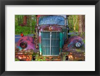 Framed Tow Truck Front