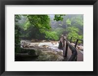 Framed Wooden Bridge
