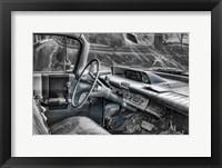 Framed 060 Buick Lesabre Interior BW