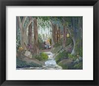 Framed Birch Creek
