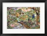 Framed Noah's Rainbow #5