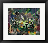 Framed Witches in the Woods