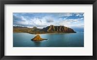 Framed Kualoa Dawn