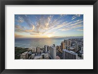 Framed Waikiki Strip