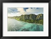 Framed Waimanalo Secret Beach Sunrise