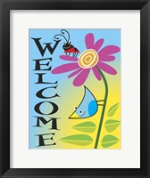 Framed Garden Flag 2b
