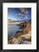 Framed Rocky Shore 1