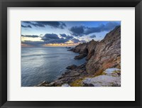 Framed Rocky Shore 2