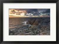 Framed Rocky Shore 3