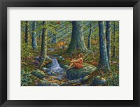 Framed Woodland Harmony 2